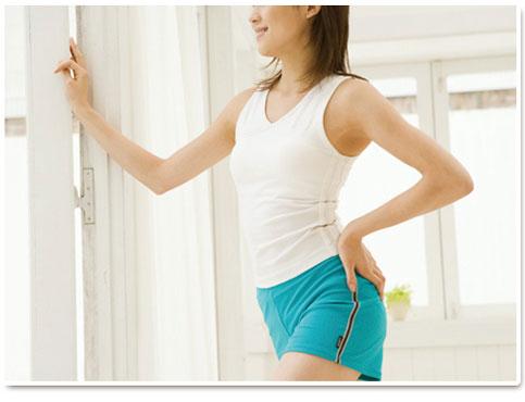 体に負担をかけずに汗を流してリフレッシュできます。