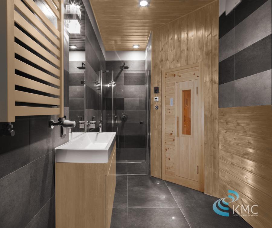 ナチュラルスパロウリュブラック洗面所設置イメージ2