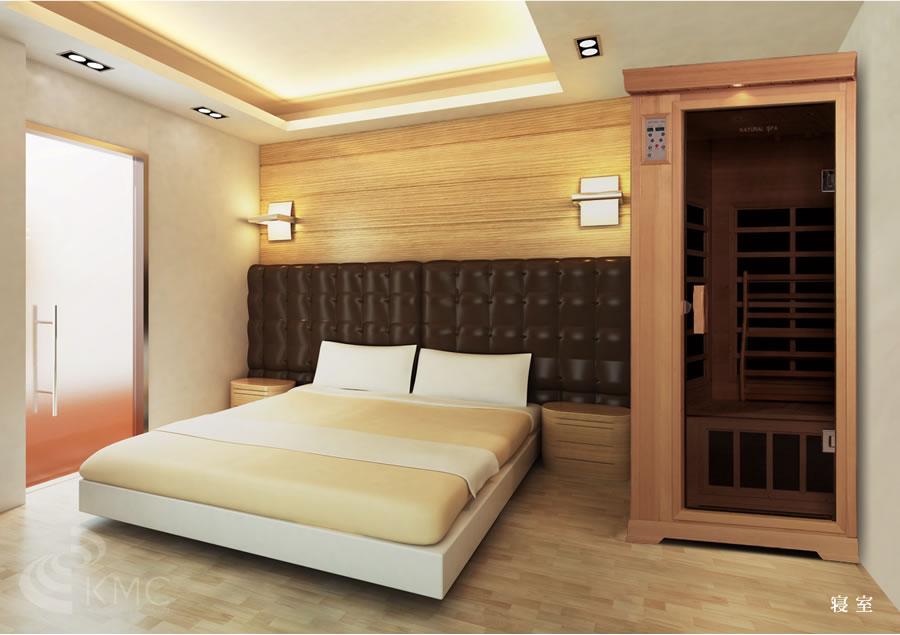 サウナ設置イメージ:ベッドルーム 寝室